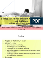 Indonesian community health workers