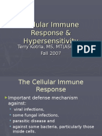 Cellular Immune ResponseAndHypersensitivity