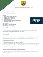 Mesyuarat JK Disiplin Dan Badan Pengawas Kali Ke 3 2013