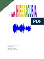 Hiperacusia y Escuela