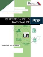 Percepción Del Sistema Nacional de Salud en Mexico