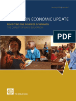 Cameroon Economic Update Vol7