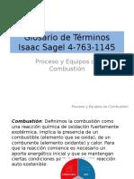 Glosario de Términos, Isaac Sagel 4-763-1145