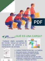 Exposicion Manipulacion Manual de Cargas
