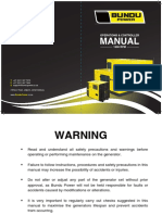 Bundu Power User Manual