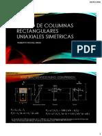 Diseño de Columnas Rectangulares Uniaxiales