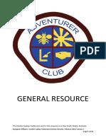 Ad-Adventurer Club General Resource