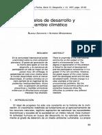 Modelos Desarrollo Cambio Climatico