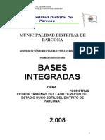 CONSTRUCCION DE TRIBUNAS DEL LADO DERECHO DEL ESTADIO HUGO SOTIL DEL DISTRITO DE PARCONAMdp Bases Integradas