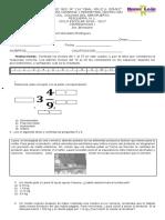 Examen Bimestral B1 Mate1