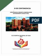 Plan Contingencia Contignecia Reforzamiento Estructural 2014