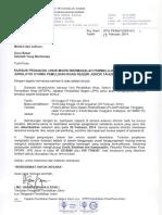 Surat Kursus Pedagogi Masalah Pembelajaran 2014 (Peserta)