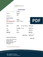 Cotización LAN Bogota