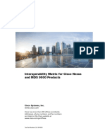 Cisco Data Center Interoperability Support Matrix