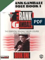 Gambale, Frank - Technique Book 1