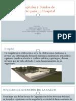 Clases de Hospitales y Fondos de Financiamiento