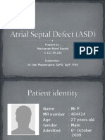 Atrial Septal Defect (ASD)