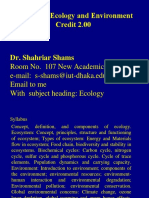 Dr. Shams's Ecology- Part 1