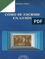 Como se Escribe un Guion - Michel Chion.pdf