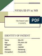 CHF NYHA III-IV ec MS