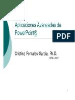 PowerPoint - Opciones Avanzadas