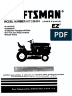 Craftsman Riding Mower 917.258591