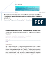 Bioequivalence Comparison of Two Formulations of Fixed.docx