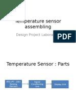 Design of Temperature Sensor