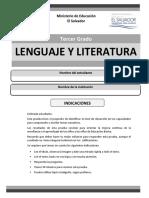 Prueba Lenguaje Tercer Grado_validada