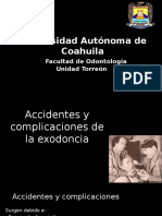Accidentes y Complicaciones Parte 1