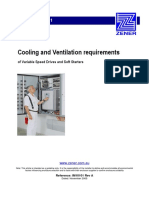 Technote Cooling Requirements for VSDs and Soft Starters
