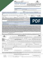 SIP Through Auto Debit Form