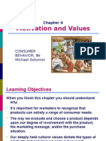 Consumer Behavior Chapter 4 Michael R Solomon 8th Edition
