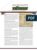 Jade Regent PFS Chronicle Sheets