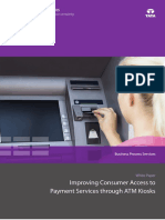 Improving Consumer Access to Payment Services Through ATM Kiosks 0414 1