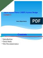 Micro Hydro_Lecture 1