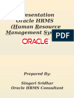 Oracle HRMS Ppt