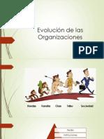 2. Evolución de Las Organizaciones