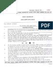 Previous Paper HPPSC Assistant Engineer Civil