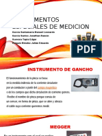 Instrumentos Especiales de Medicion