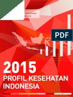 Profil Kesehatan Indonesia 2015