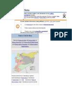 LITERATURA-Guerra Civil Siria