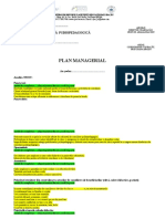 Plan Managerial Cabinet