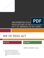 Implementing Rules & Regulations of RA 8759 (