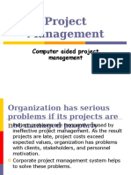 Computer Aided Project Managemnt