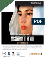 Bhutto Educator Guide