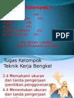 Teknik Kerja Bengkel Kelas X TEI 1 KEL.3