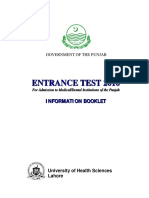 Information Booklet 2016