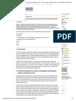 Analyzing Cultural Psychological Themes in Narrative Statement Ratner Forum Qualitative Sozialforschung Forum Qualitative Social Research