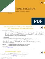 Semana 1 - Introduccion Del Derecho Administrativo